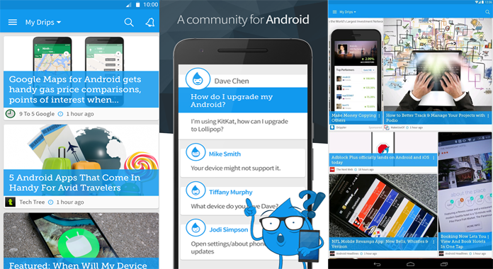Drippler for Android Review Free Download