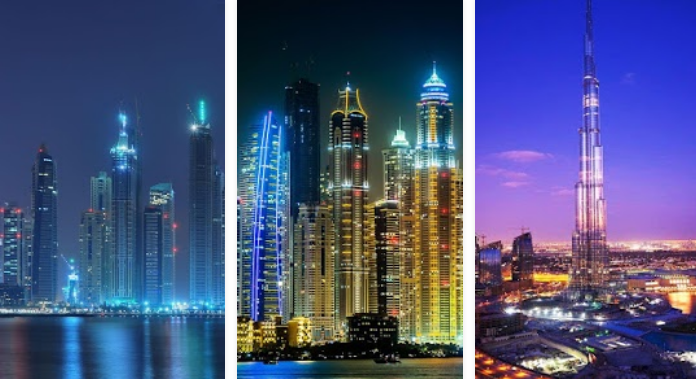 Dubai Night Download Best Free Live Wallpapers for Android