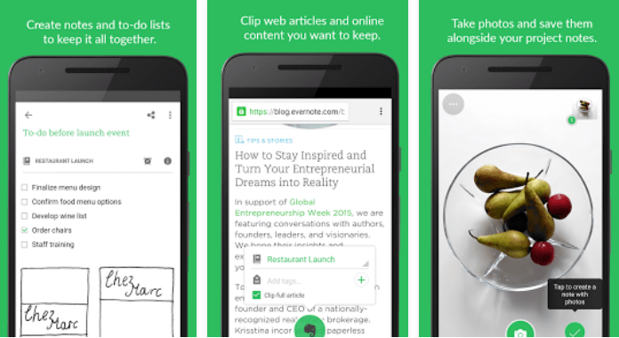 Evernote Must Have Android Apps free