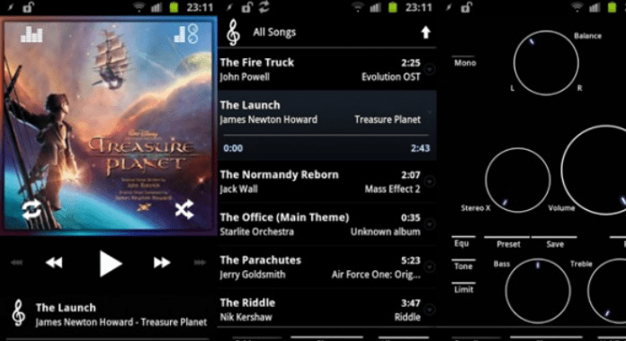 Best Android Music player Apps Poweramp