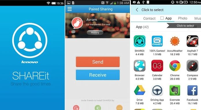 SHAREit Must Have Android Apps free