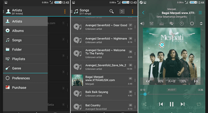 jetAudio Best Android Music player Apps