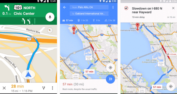 Best GPS Apps for Android free download Maps