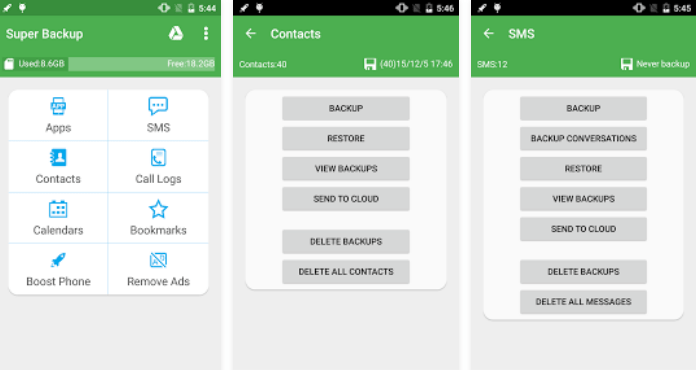 Top 10 Best Android Backup Apps Super Backup