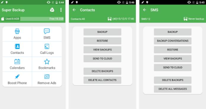 Top 10 Best Android Backup Apps Super Backup