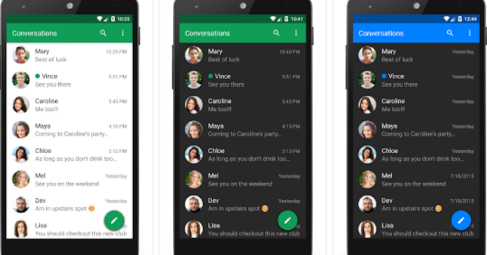 Best Messaging Apps for Android free Download Textra