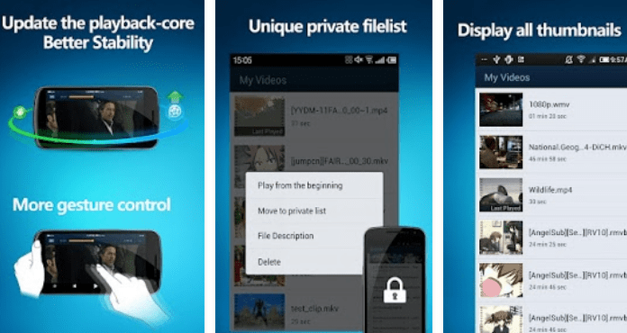 QQ Player Best Android Video Player Apps