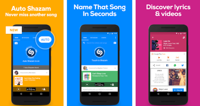 Shazam Best Free Music Apps for Android