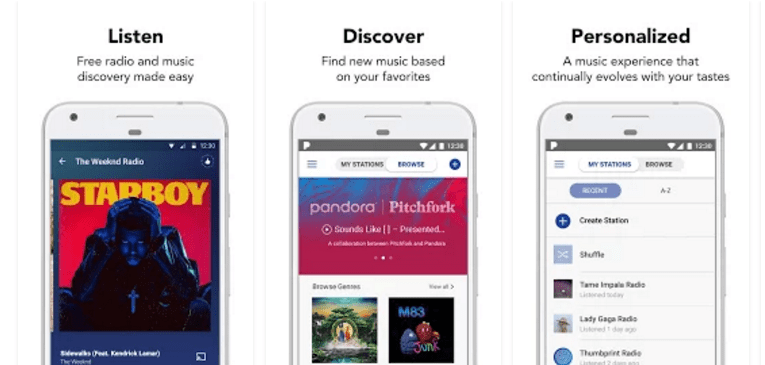 Best Free Music Apps for Android Pandora® Radio