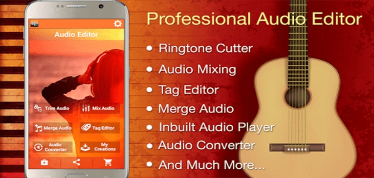 Best Ringtone Makers for Android Audio MP3 Cutter Mix Converter