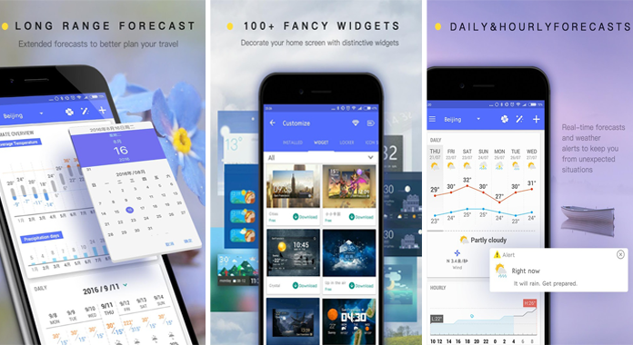 Amber Weather Local Forecast Best Weather Apps for Android