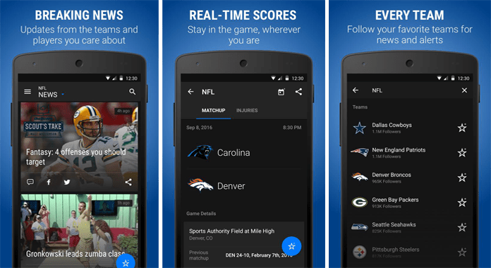 Top 11 Best College Football Apps for Android - 2016 theScore Sports Scores & News
