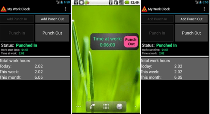 Best Time Tracking Apps for Android My Work Clock
