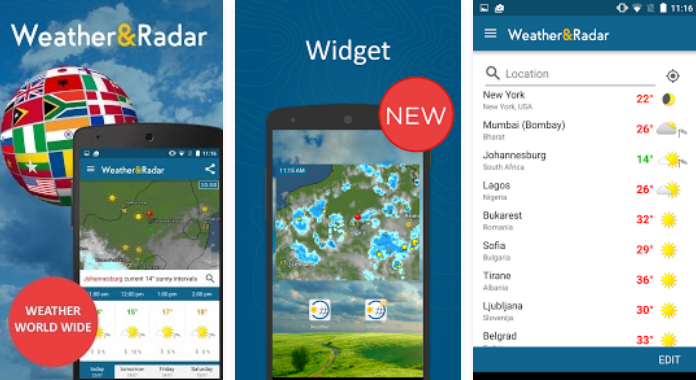 Weather & Radar Best Weather Apps for Android
