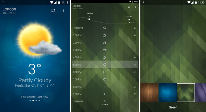 14 Best Weather Apps for Android - 2016 | Android Booth