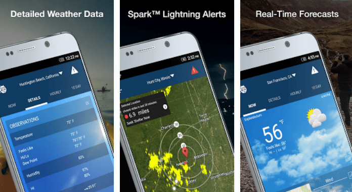WeatherBug Forecast & Radart Best Weather Apps for Android
