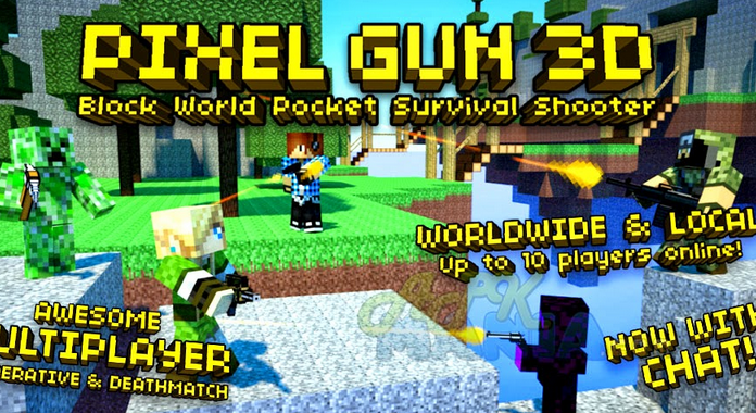Best Action Games for Android pixel gun 3d pocket edition