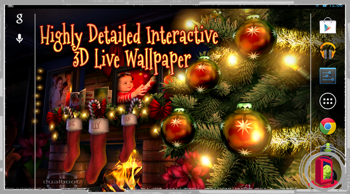 10 Best Christmas Live Wallpapers For Android
