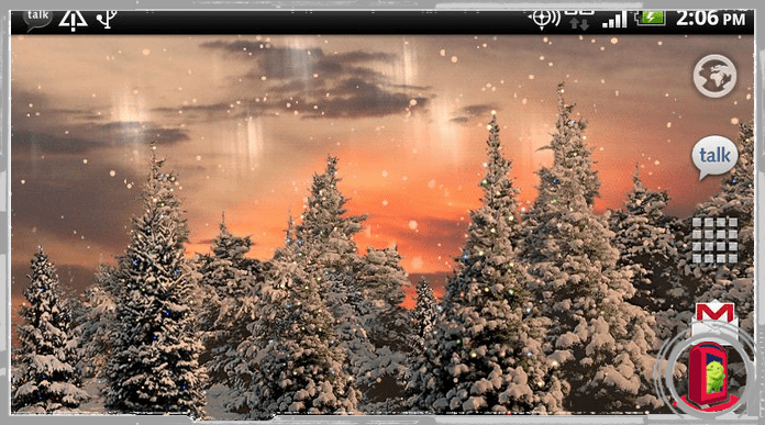 Best Snowfall Christmas Live Wallpapers for Android