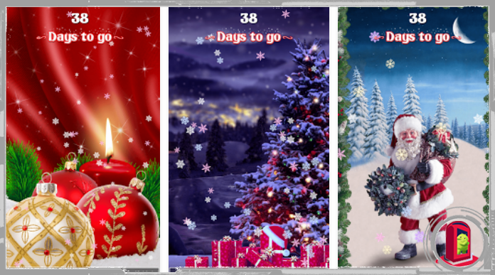 Best Christmas Countdown Live Wallpapers for Android 2016