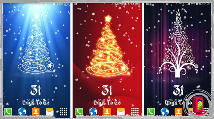 Top 10 Christmas Countdown Live Wallpapers for Android 2016