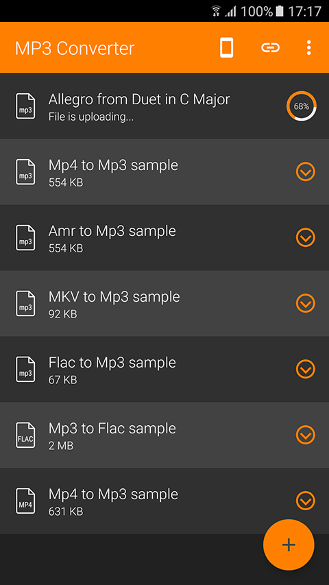 MP3 Converter for Android Smartphone 4
