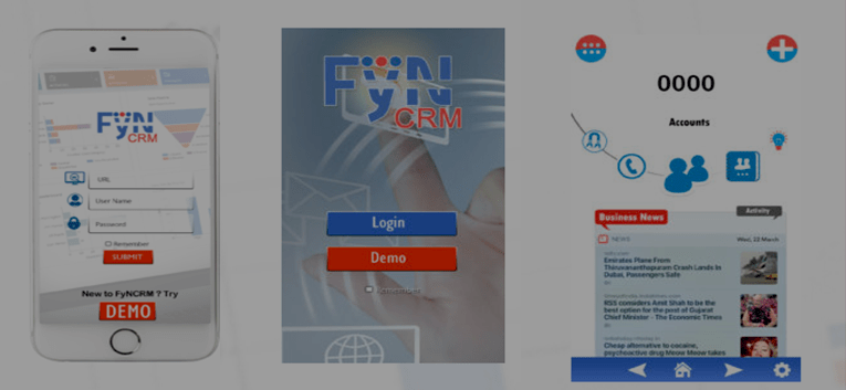 How to Use Mobile CRM App for SuiteCRM FyNCRMon on Android and IOS