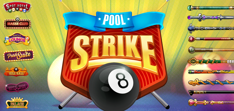 Pool Strike 8 Ball Pool Game Billiard for Android and IOS