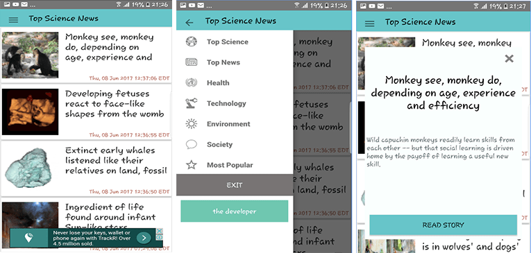 Download Science News app for Android