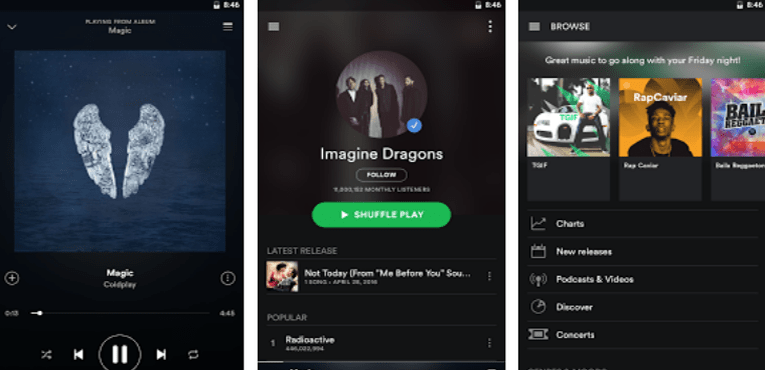 5 Must-Have Apps For Your New Android Phone- Spotify Music
