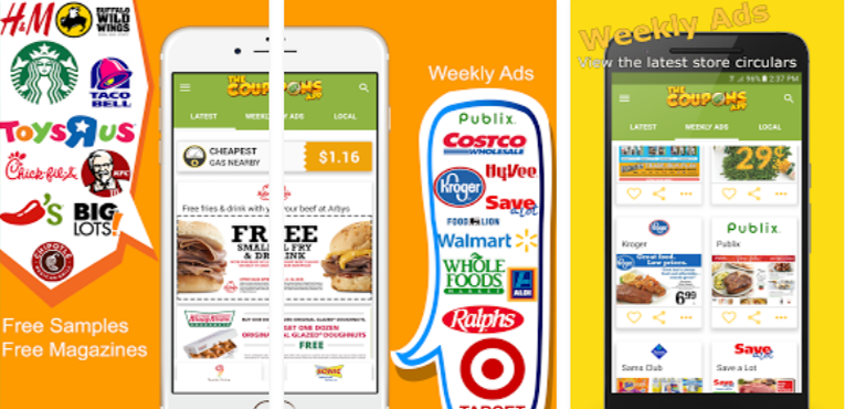 Best Coupon Apps for Android The Coupons App