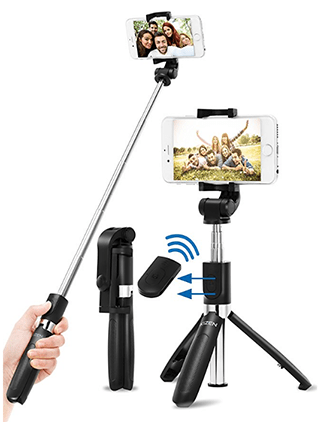 Kizen Bluetooth Selfie Stick