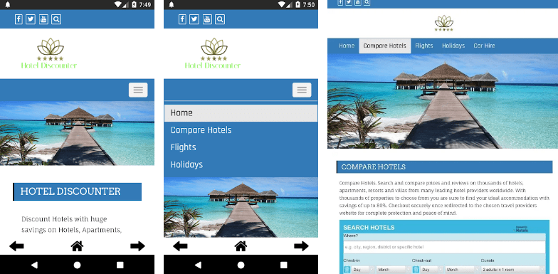 hotel discounter app book cheap hotel, motel, flights