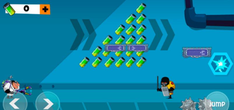 Evil Scientist Game Screenshot