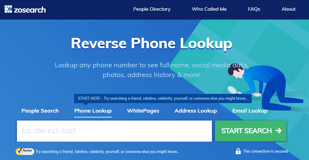 Zosearch Review Free Reverse Phone Lookup
