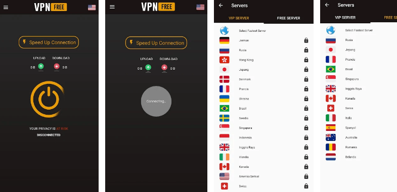 GURU VPN Screenshots