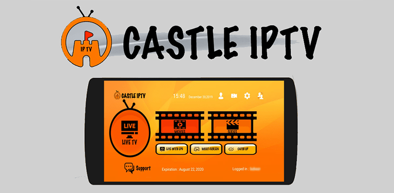 Castle IPTV app for Android- Online Streaming App