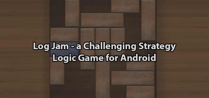 Log Jam - a Challenging Block Sliding Puzzle Game for Android