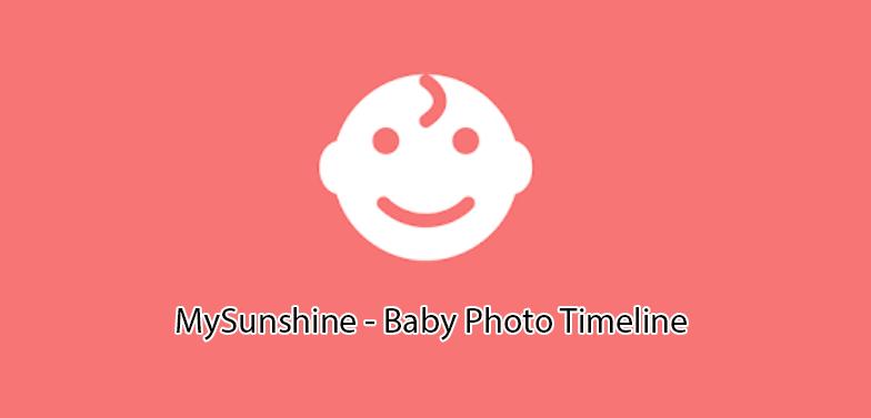 MySunshine - Baby Photo Timeline
