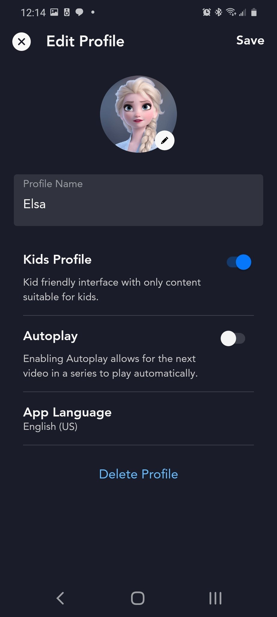 Profile Pictures For Kids : profile, pictures, Create, Profile, Adjust, Parental, Controls, Disney, Android, Central