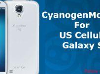 CyanogenMod 10.2 For Samsung Galaxy S4 (US Cellular)