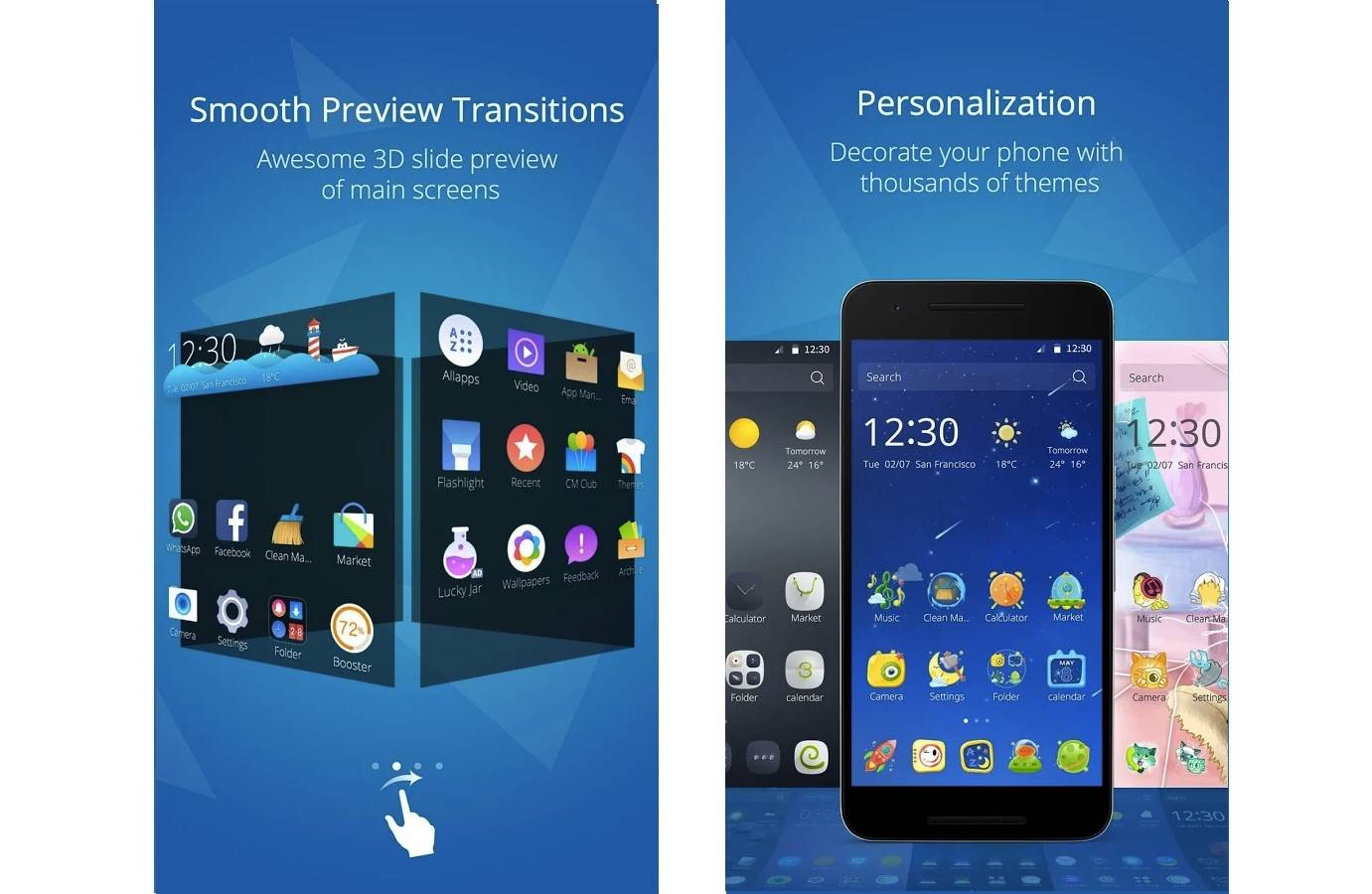 Cheetah Mobile updates CM Launcher with 3D elements - Android Community
