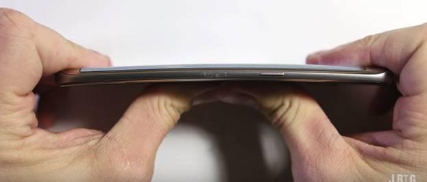 Samsung Galaxy S7 Bend test