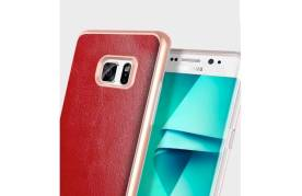 Samsung Galaxy Note 7 Case Red Leather