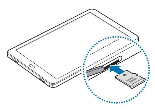 Samsung Galaxy Tab A 10.1 illustrated online with S-Pen
