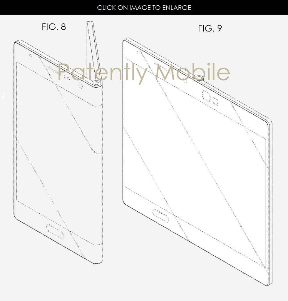 Samsung gains patent for 'fold-out' smartphone design