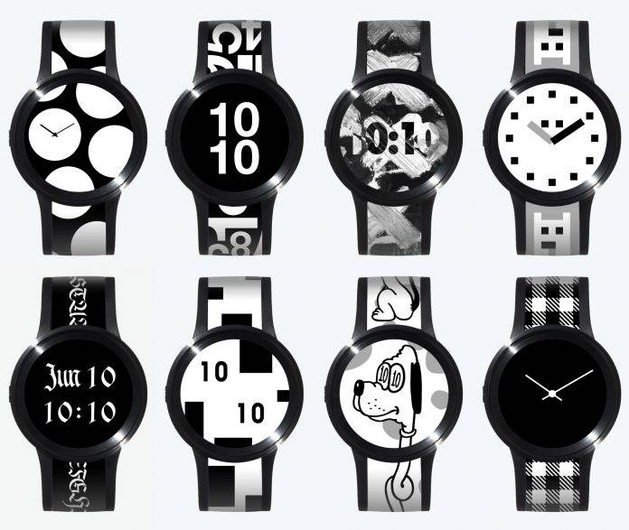 Sony's e-ink FES Watch U now available in Japan - Android Community