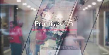 OnePlus 5 The Promise of 5 A