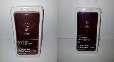 Samsung Galaxy S9 Clear VIew Standing Cover 2
