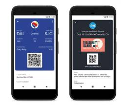 Google Pay Boarding Pass Ticket